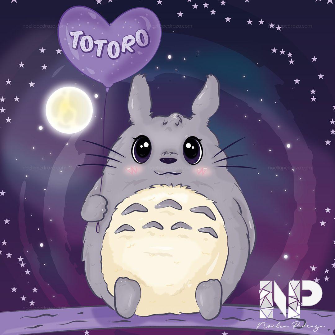 My Neighbor Totoro illustration kawaii