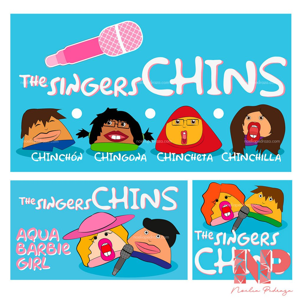 the singers chins canal de youtube