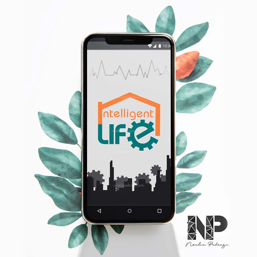 aplication design intelligent life smarrtphone