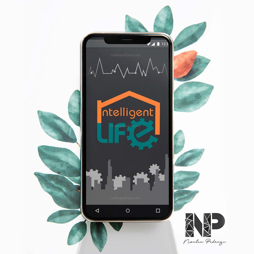 flat design app smarthpone