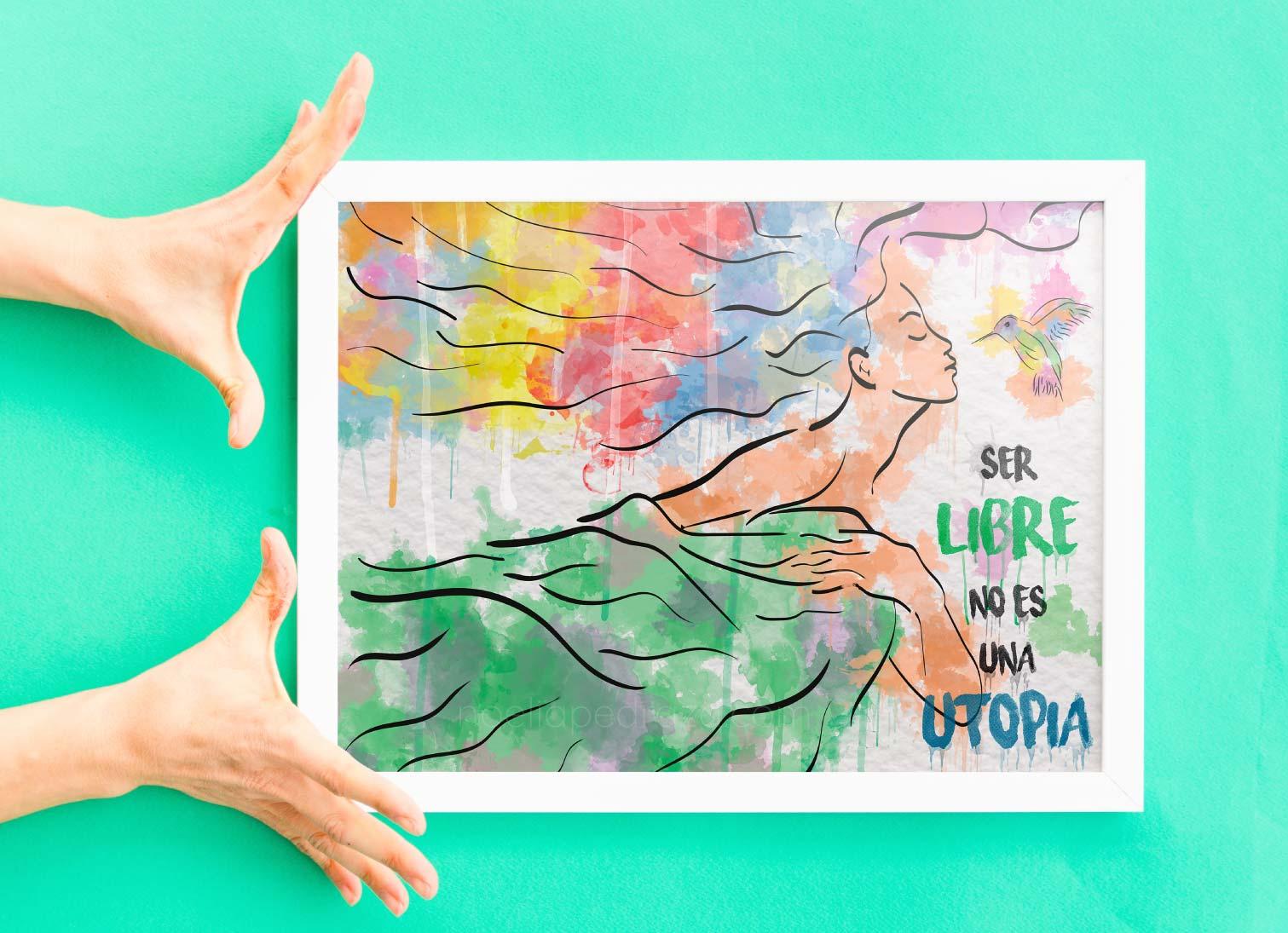 diseño de campaña publicitario dia de la mujer