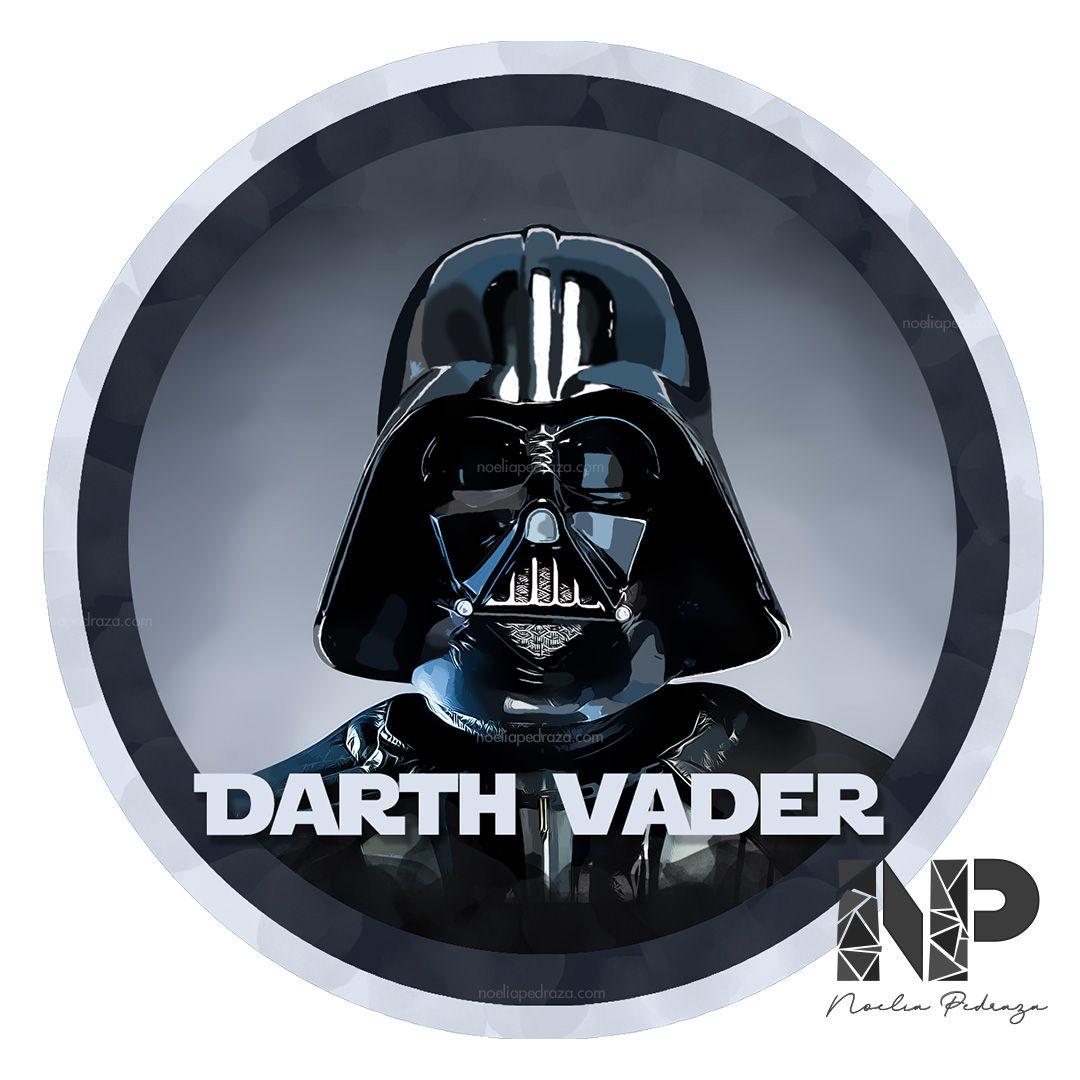 Dibujo digital Darth Vader