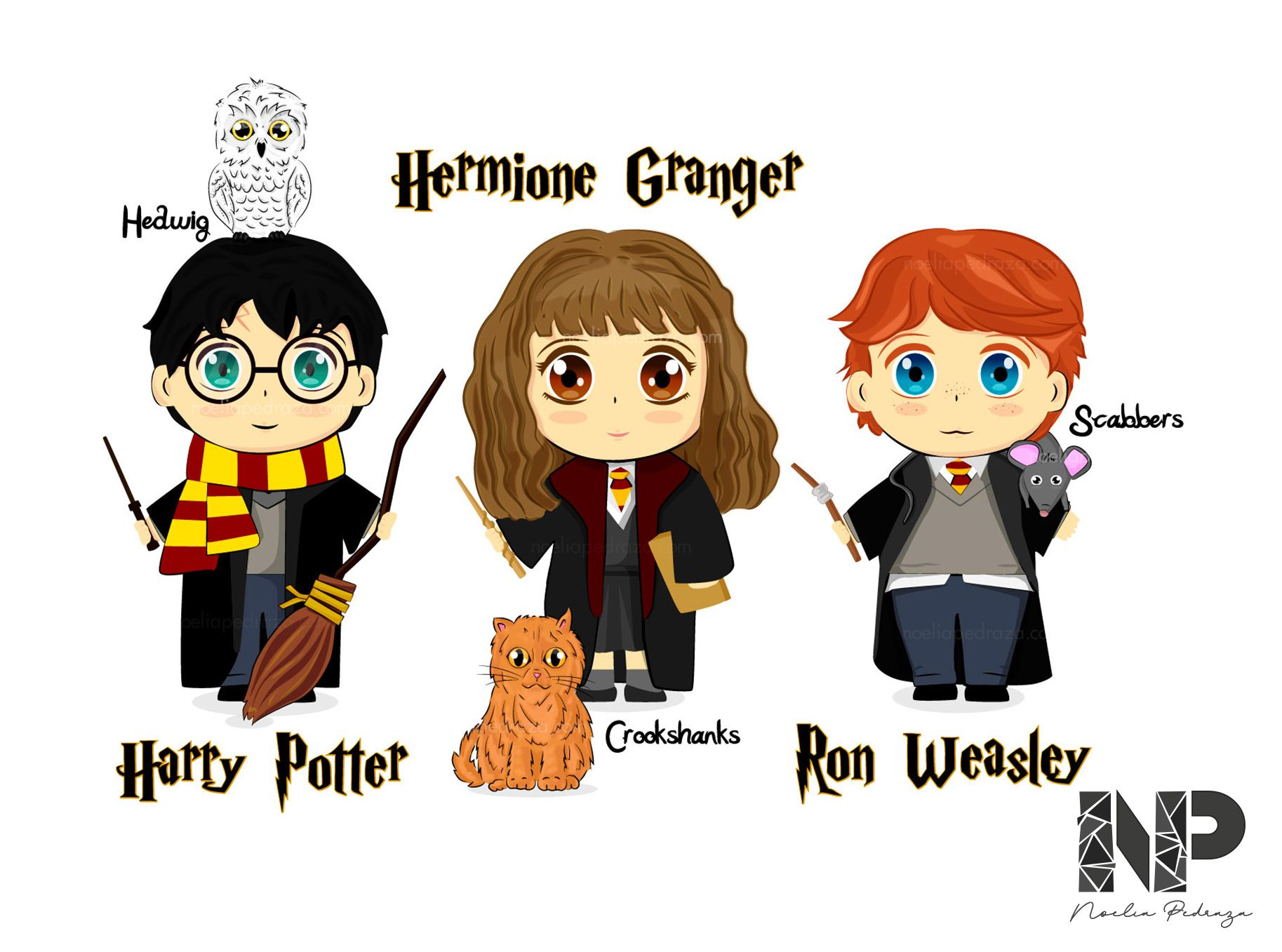 dibujos cartoon personajes harry potter