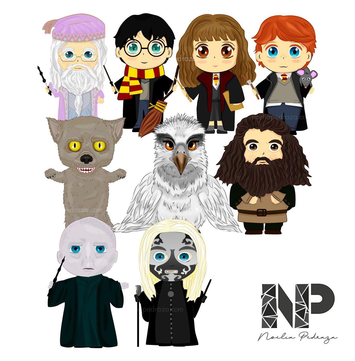 Ilustración Colegio Hogwarts de Magia